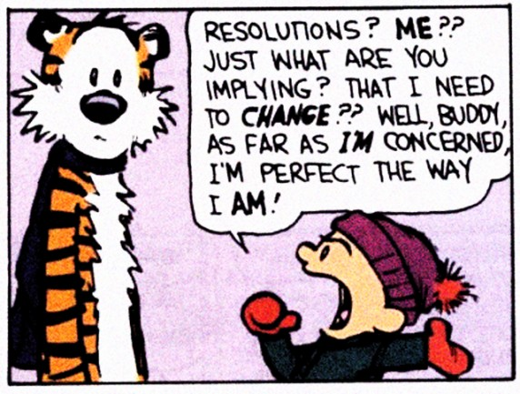The 2012 Resolutions Post