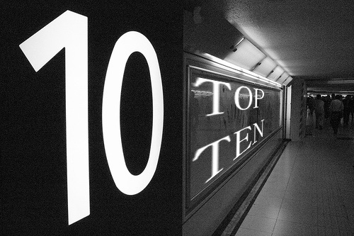 Indie Top Ten List