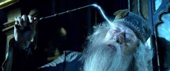 Not easy for ME. Dumbledore's a show off