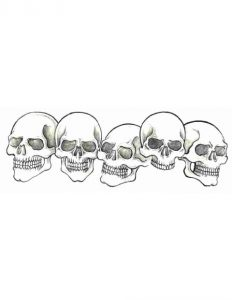 five-skulls-tattoo