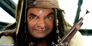 Blackadder as a Pirate. I thought the concept was gold.